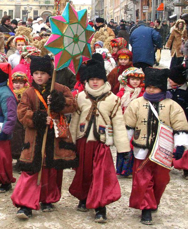 Традиции новый год украинцев